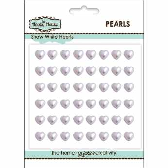 Flat Backed Pearl Medallion 11 mm white