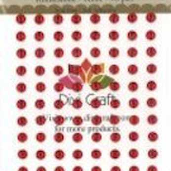 Dixi Craft Rhinestones 6 mm rot