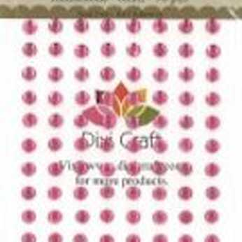 Dixi Craft Rhinestones 6 mm pink