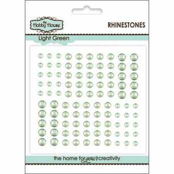 Klebesteine Rhinestones Light Green