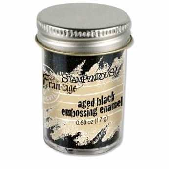 Aged black embossing Enamel