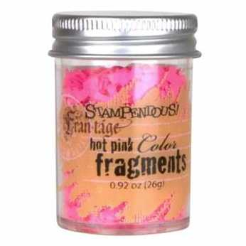 Hot Pink Color Fragments - Stampendous - Frantage