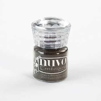 Nuvo Embossing Powder fine detail glacier white