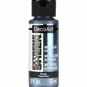 DecoArt Extreme Sheen Pewter