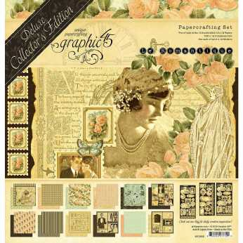 Graphic 45 Fashion Forward Paper Pad 8 x 8""