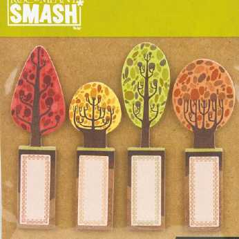 Smash Note Pad - Trees Sticky Note Pad