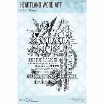 Blue Fern Studios Clearstamp Heartland
