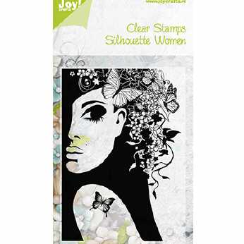 Joy Crafts Clearstamp Silhouette Women