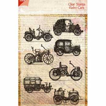 Joy Crafts Clear Stamps Retro Cars
