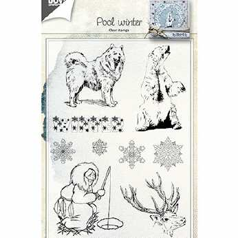 Joy Crafts Clear Stamps Pool winter