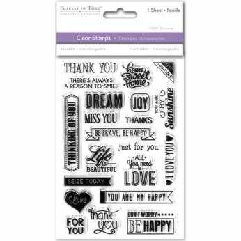 JustRite Clearstamps Planner Day Boxes