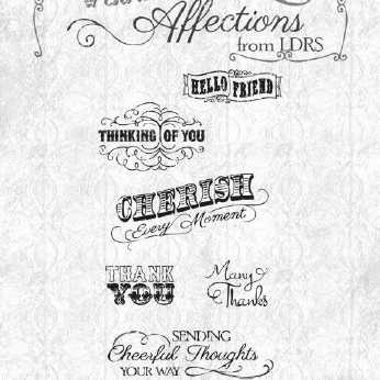 Stampendous Cling Vintage Contract