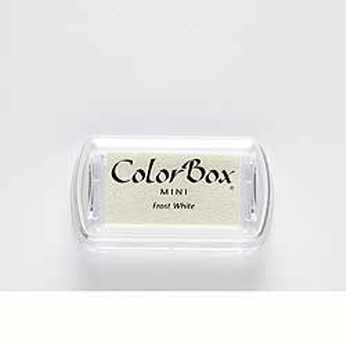 Mini Stempelkissen Color Box Frost White