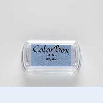 Mini Stempelkissen Color Box Baby Blue