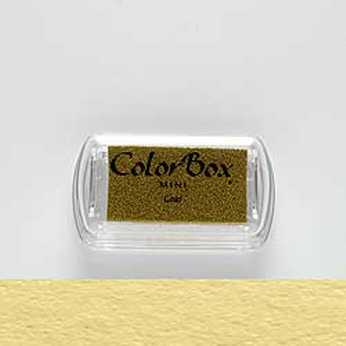 Mini Stempelkissen Color Box Gold