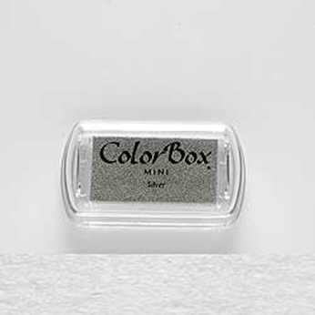 Mini Stempelkissen Color Box Silver