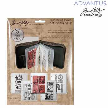 Tim Holtz Layers Collector Cards