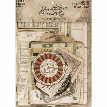 Tim Holtz Clipping Stickers