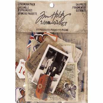 Tim Holtz Salvage Stickers French Industrial