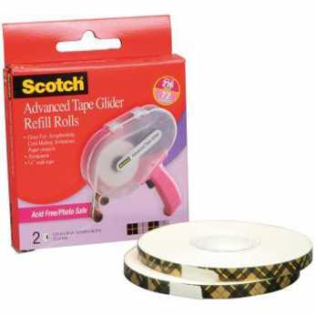 Scotch Advanced Tape Glider Acid-Free Refills
