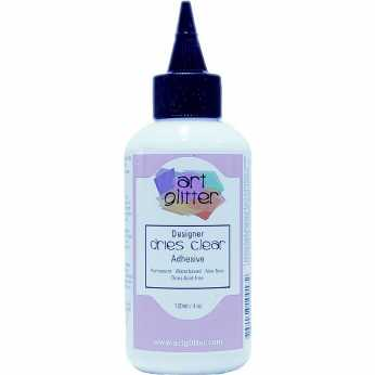 Art Glitter Designer dries clear adhesive 4oz