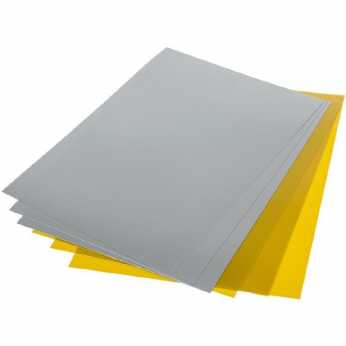 Grafix Shrink Film gold & silver