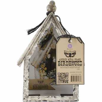 Prima Marketing Altered Metal Frame Birdhouse