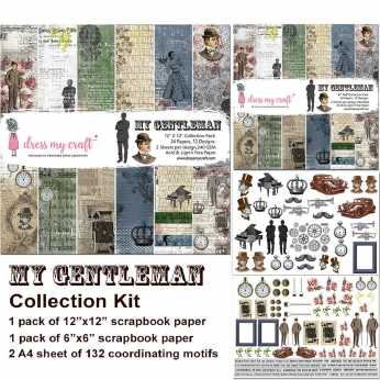 Dress My Craft Collection Pack My Vintage Lady