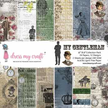 Dress my Craft Collection Kit My Gentleman