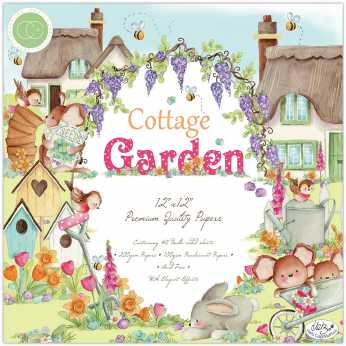 Craft Consortium Papierblock Cottage Garden
