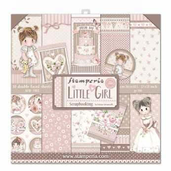Stamperia Paper Pad Little Girl