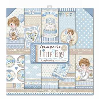 Stamperia Paper Pad Little Boy