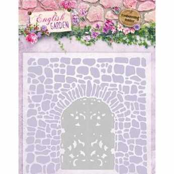 Studio Light Embossing Folder English Garden