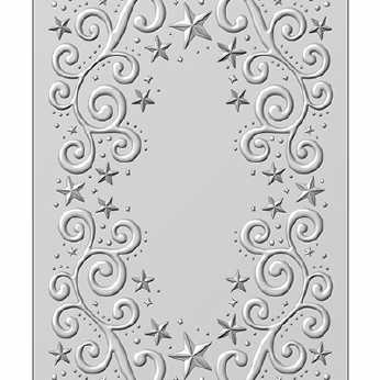 3D Embossing Folder Twinkle Swirls