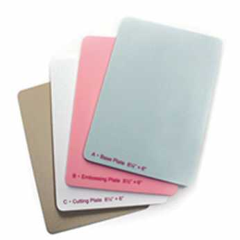Spellbinders Junior Replacement Plates Full Set