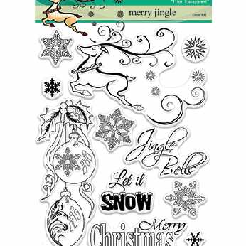 Penny Black Clearstamps Merry Jingle