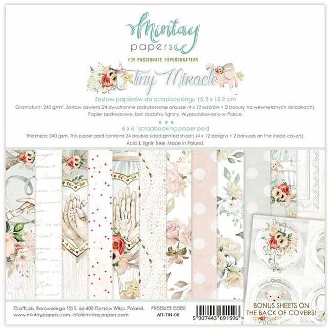 Mintay Papers - Paper Pad Tiny Miracle 6x6""