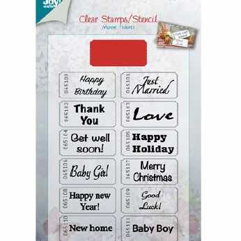 Joy Crafts Stempel und Stanze Kinotickets