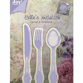 Joy Crafts Vintage Flourishes Engel mit Harfe