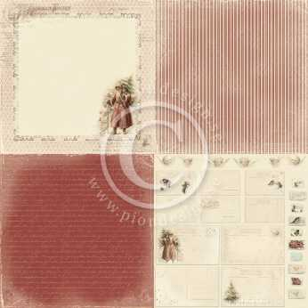 "Pion Design 6x6"" Waiting for Santa II,"