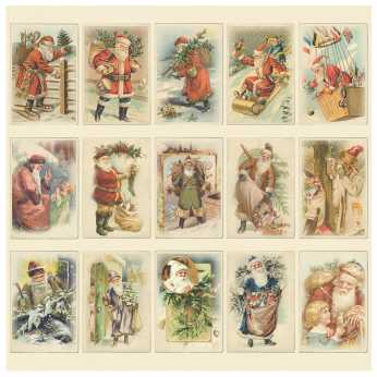 Pion Design Images from the Past, Santas