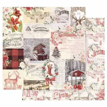 Prima Scrapbookingpapier Northern Region