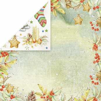 Scrapbookingpapier Winter Holiday