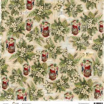 Scrapbookingpapier North Pole 05