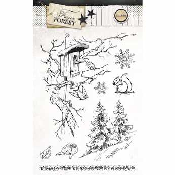 Studio Light Stempel Frozen Forest Nr. 148