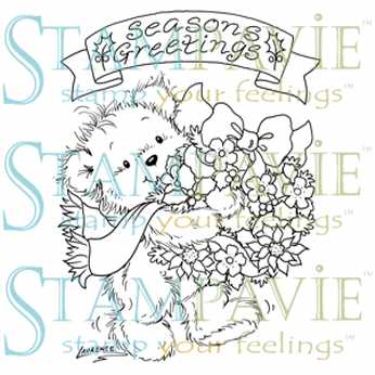 Clear Stamp Laurence Seasons Greetings