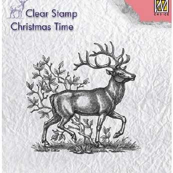 Nellie´s Choice Clearstamp Reindeer