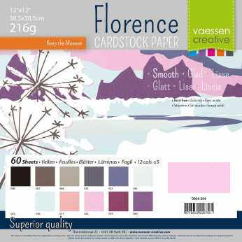 Florence • Cardstock smooth multipack Winter