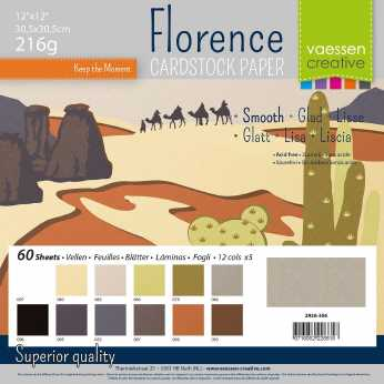 Florence • Cardstock smooth multipack Earth tones